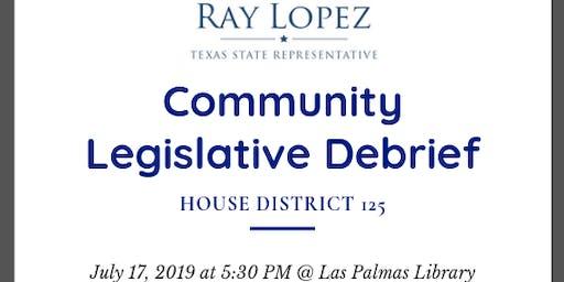 Community Legislative Debrief
