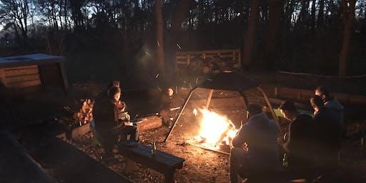Mannen rond het vuur | Herfst editie