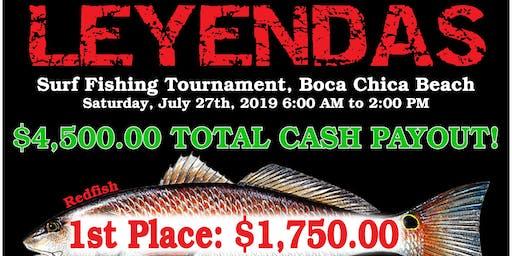 3rd Annual BCBL'S Leyendas Surf Fishing Tournament