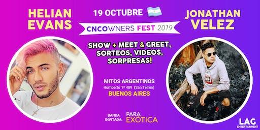 CNCOWNERS Fest | HELIAN EVANS & JONATHAN VELEZ