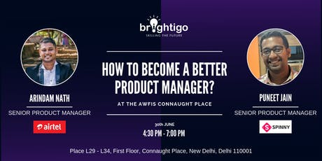 How to become a better product manager? tickets