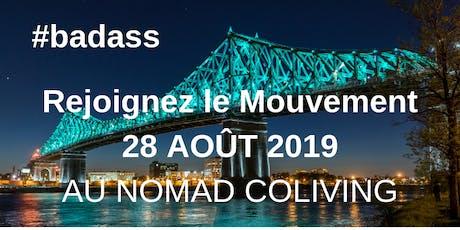 Apéro Badass @Montréal pour parler Cash avec des Badass ! billets