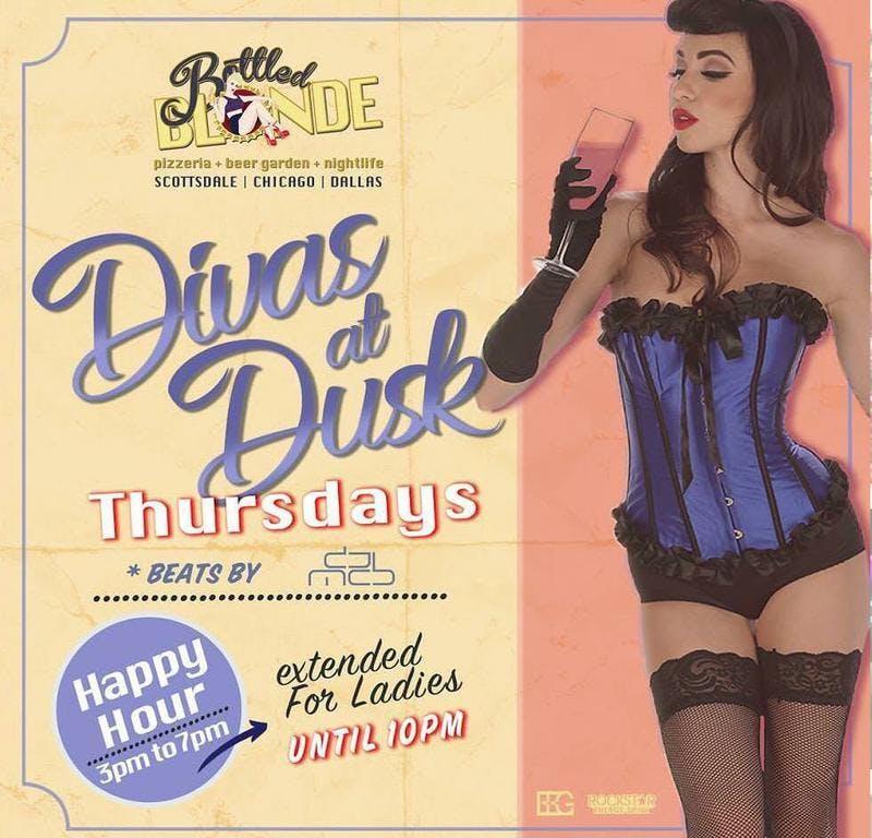 Divas at Dusk at Bottled Blonde Free Guestlist - 8/22/2019