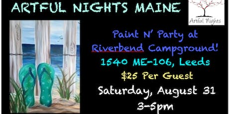 Paint N' Party at Riverbend Campground tickets