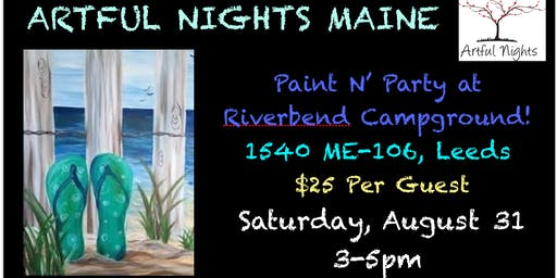 Paint N' Party at Riverbend Campground