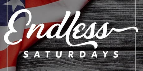 ENDLESS SATURDAYS   @ THE END UP   FREE B4 11PM W/ RSVP   BOTTLE AND DRINK SPECIALS B4 11PM tickets