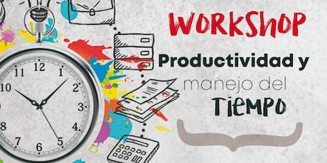 Workshop - Productividad y manejo del tiempo entradas