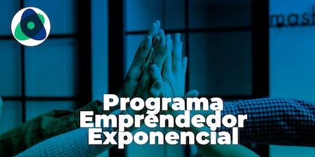 Taller Emprender en Tecnología - Programa Emprendedor Exponencial entradas