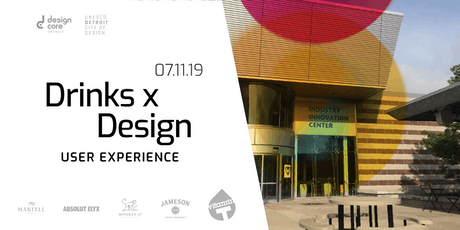 Drinks x Design: User Experience tickets