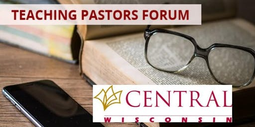 TEACHING PASTORS FORUM - with Rev. Dr. Marvin McMickle