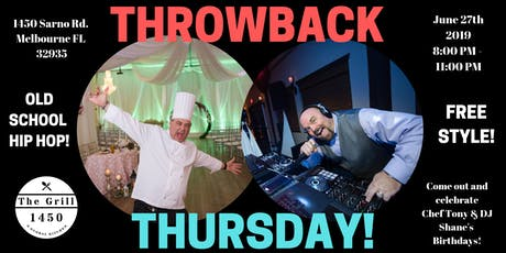 Throwback Thursday with DJ Shane tickets