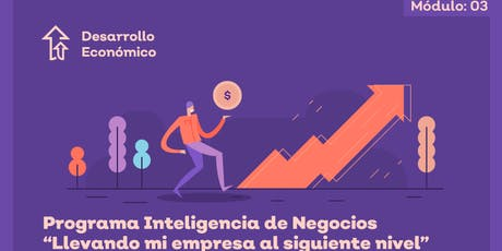 """Programa de Inteligencia de Negocios llevando mi empresa al siguiente nivel. Modulo 3 Tema: """"Como volver mas atractivo mi negocio""""  entradas"""