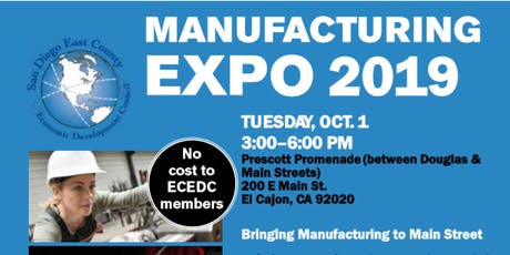 Be a Part of the Largest Manufacturing Expo in Southern California! tickets