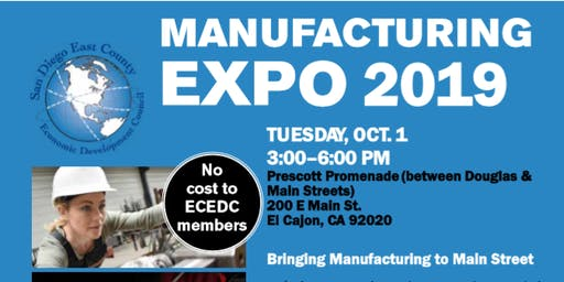 Be a Part of the Largest Manufacturing Expo in Southern California!