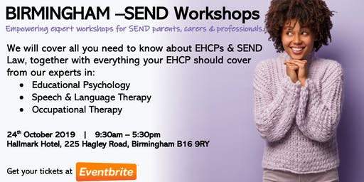 BIRMINGHAM - Day of SEND Workshops