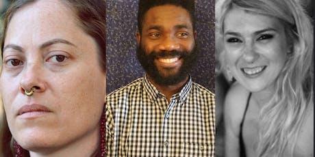 Reading: Miriam Bird Greenberg, Ayokunle Falomo and Trinity Tibe tickets