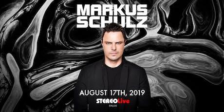 Markus Schulz - Dallas tickets