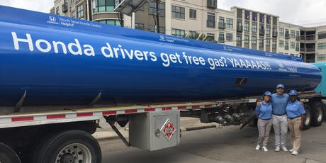 Free Gas for Hondas in Burleson, courtesy of North Texas Honda tickets