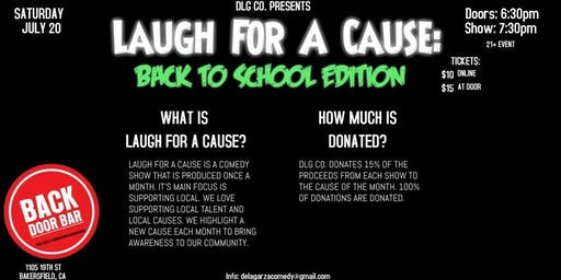 Laugh For A Cause: Back to School Edition