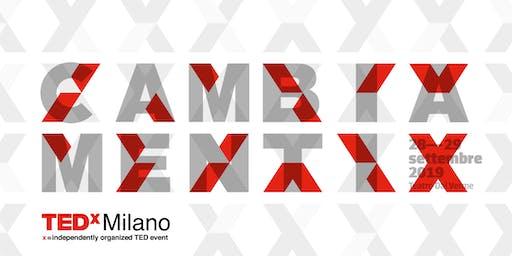 TEDxMilano 2019 - CAMBIAMENTI