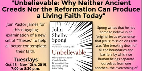 Unbelievable - Book Study tickets