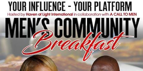 Men's Community Breakfast tickets