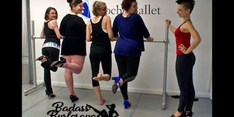 Badass Burlesque Class: Get Your Kicks tickets