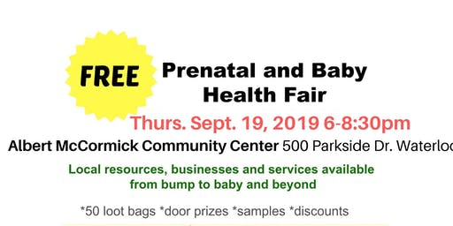Prenatal and Baby Community Fair
