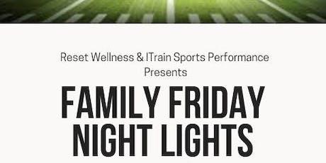 Family Friday Night Lights - VOLUNTEER SIGNUP tickets