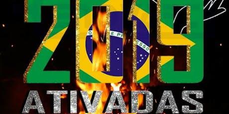 Ativadas Brasil 2019 -  Conferência Profética Internacional para Mulheres ingressos