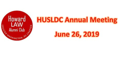 HUSLDC Annual Meeting tickets