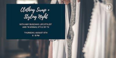 Clothing Swap + Styling Night