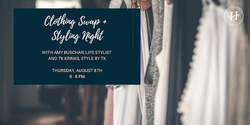 Clothing Swap + Styling Night