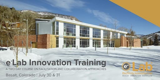 eLab Innovation Training July 2019