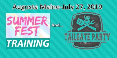 Augusta Maine Summerfest Training & Tailgate Party tickets