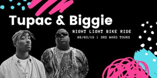 Tupac & Biggie | Night Light Bike Ride