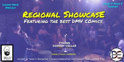 Tysons Comedy Cellar's Regional Showcase