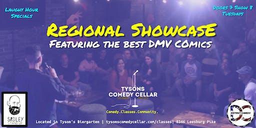 Tysons Comedy Cellar's Regional Showcase