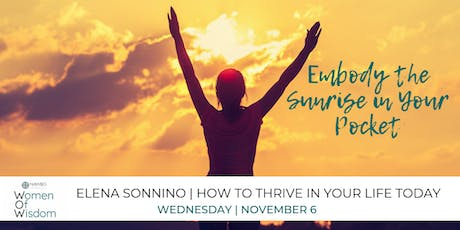 Entrepreneur Enrichment Series: How to Thrive in Your Life Today tickets