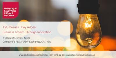 Business Growth Through Innovation | Tyfu Busnes Drwy Arloesi