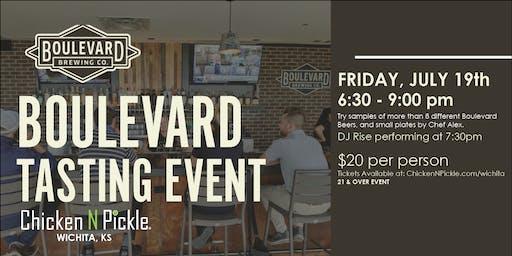 Boulevard Tasting Event