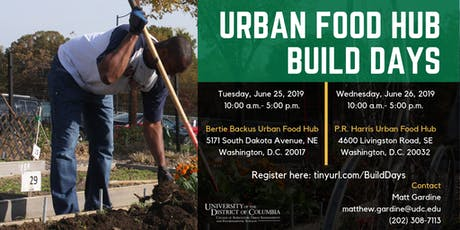 Urban Food Hub Build Days tickets
