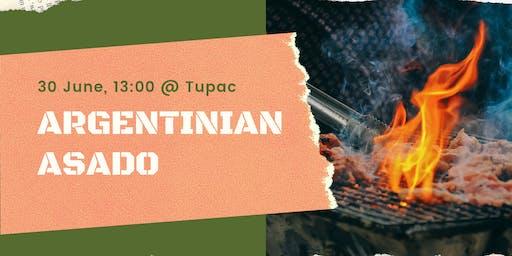 BBQ in the Garden @ Tupac!