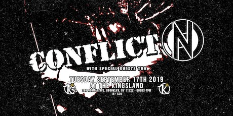Conflict at The Kingsland tickets