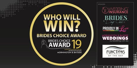 Mornington & Bayside Road Brides Choice Awards Gala Cocktail Party 2019 tickets