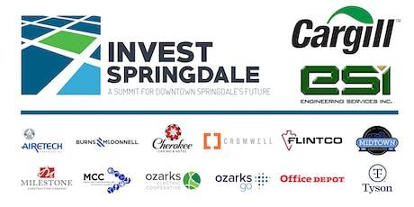 Invest Springdale tickets