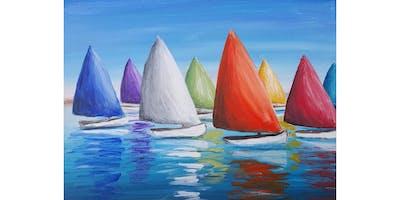 8/5 - Colorful Sails @ Vino at The Landing, Renton