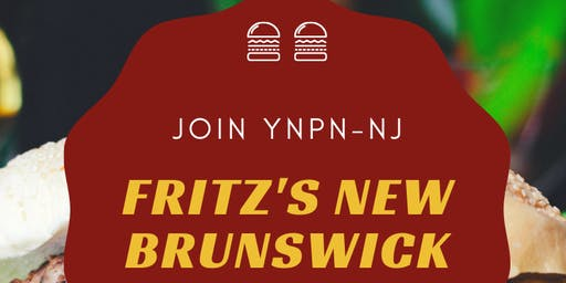 Burgers w/ YNPN-NJ in New Brunswick, June 26th!