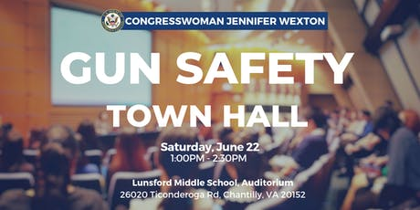 Congresswoman Wexton Hosts Gun Safety Town Hall tickets