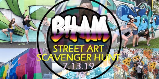BHAM Street Art Scavenger Hunt